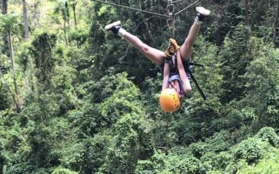 Healthy habits and helping in the mountains of Puerto Rico 2018