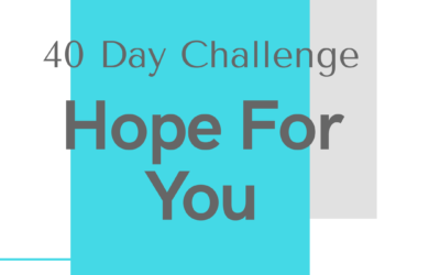 Hope For You -40 day Challenge